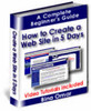 Thumbnail Create your own Web site in 5 days!